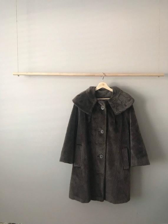 Vintage Long Mohair Coat