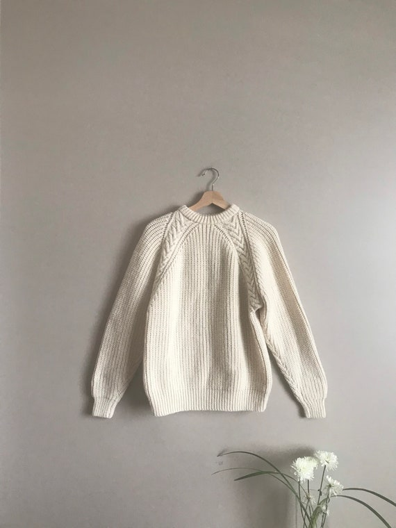Vintage Fisherman Pullover Sweater