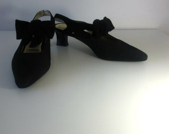 Vintage Joan & David Slingback Heels Shoes