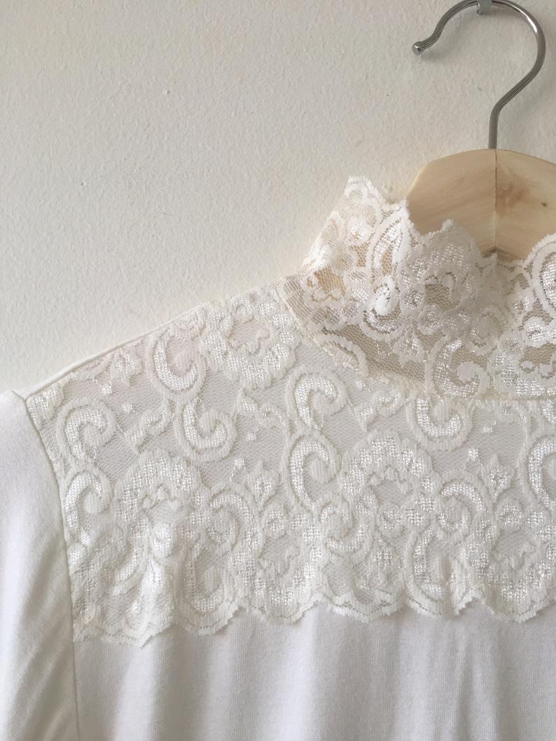 Vintage lace turtleneck Top