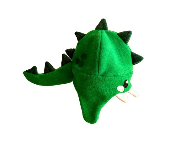 9a3c48bd4b8 Dinosaur hat dragon hat fleece hat clothing winter fall