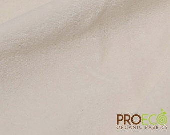 Ready-AbZORB™ ProECO® Bamboo Velour Fabric (Natural, sold by the yard)