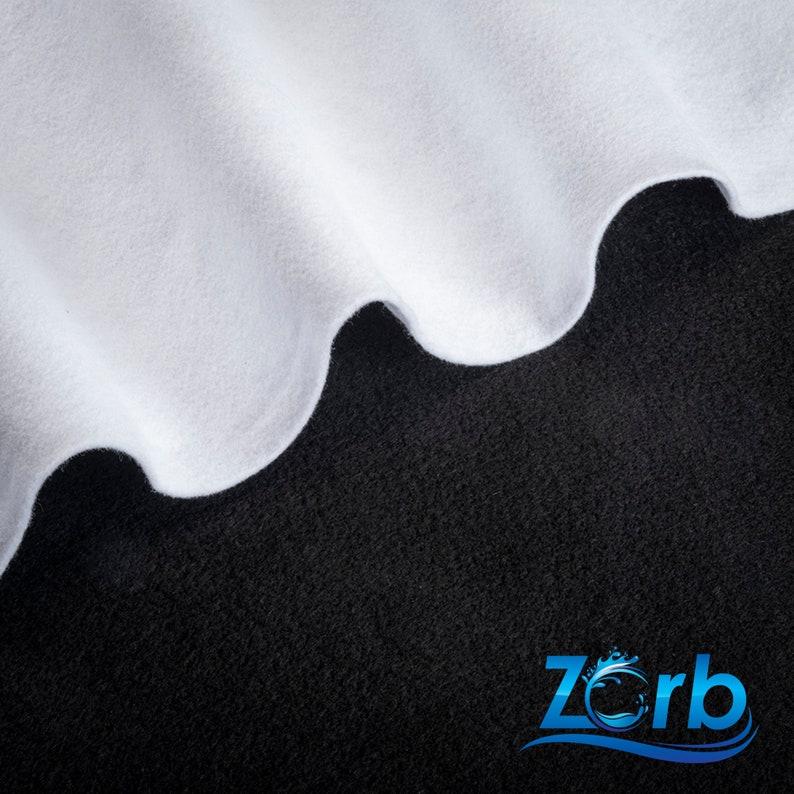 Zorb® Original Super Absorbent Fabric Made in USA White image 0