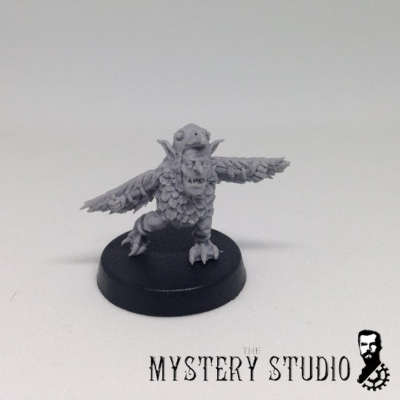 Blood bowl Fantasy Ogre and Vampire Sportcasters Mystery studio