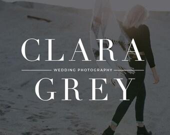 Wedding Photographer Logo and Watermark |Wedding Photography Logo and Watermark |Photography Logo and Watermark |Premade Logo Design