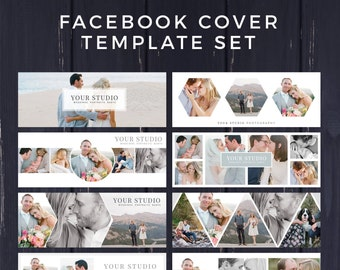 Facebook Template, Photography Marketing, Facebook Timeline Cover Template, Facebook Cover Photo, Facebook Banner, Photoshop Template,PSD