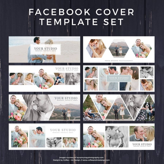 facebook template photography marketing facebook timeline etsy