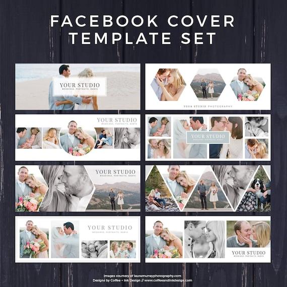 Facebook Template Photography Marketing Timeline