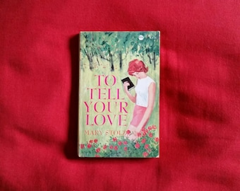 Mary Stolz - To Tell Your Love (Scholastic Book Services 1968)