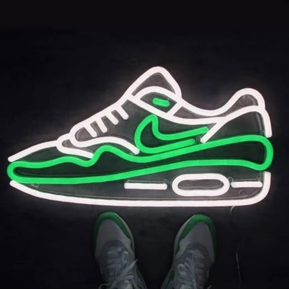 Air Max   LED Neon Sign, Nike Air Max, Nike Air, Nike Air Max Shoes, Custom Neon, Neon Art, Noen Shoes, Neon Shoe, Shoe,Air Max OG