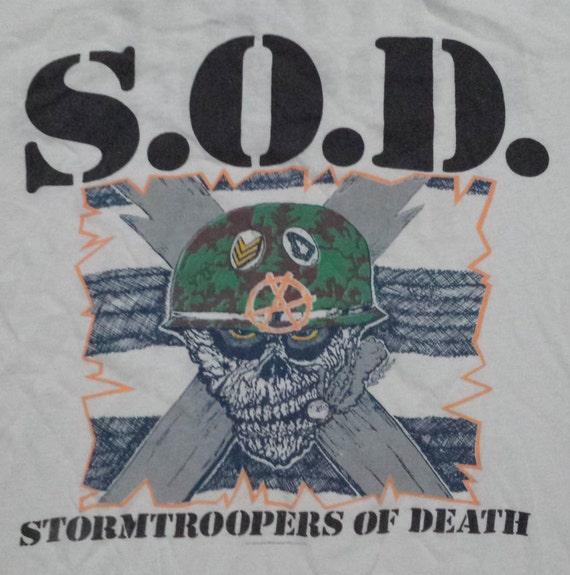 Stormtroopers Of Death SOD Metal Hardcore Punk Rock Retro T Shirt 19