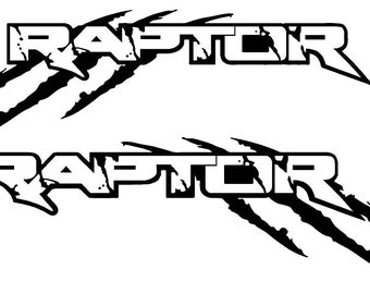Ford Raptor Decal Etsy