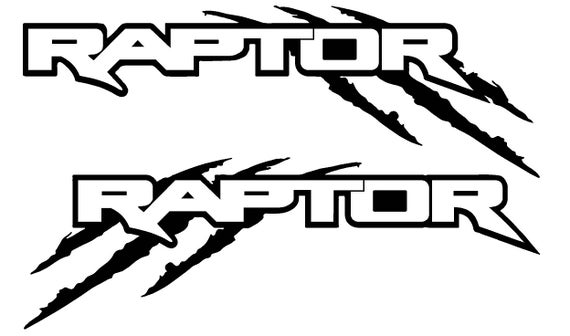 Reflective Ford Raptor Decal Sticker Graphic Kit For Ford F150 Etsy