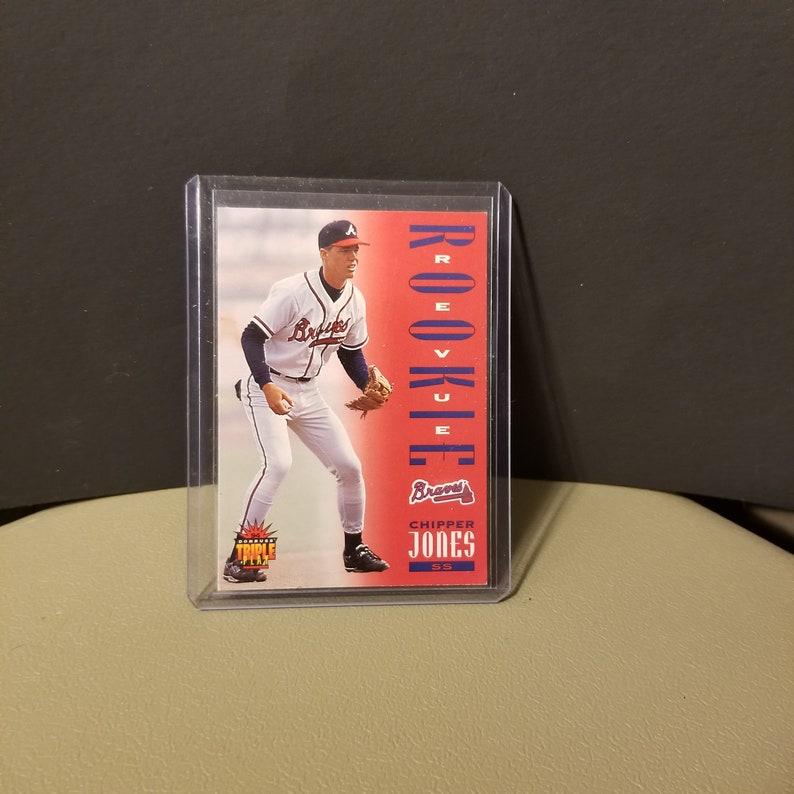 Chipper Jones 1994 Triple Play Donruss Rookie Revue Baseball Card 281 Atlanta Braves