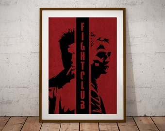 Fight Club Minimal Movie Poster