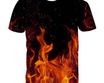 09822abc6792 Galaxy Sweatshirts Wolf Husky Men Women 3d Hoodies Blue Fire