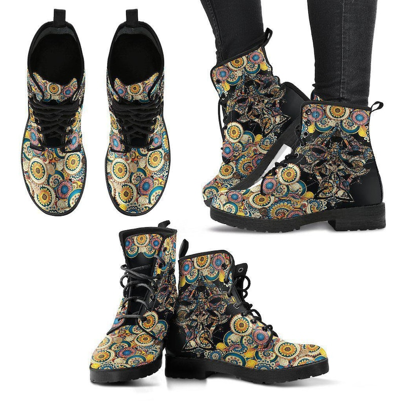 Dragonfly Women/'s Leather Boots