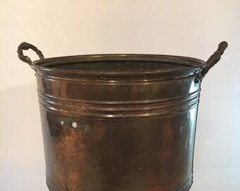 Brass Cachepot, vintage