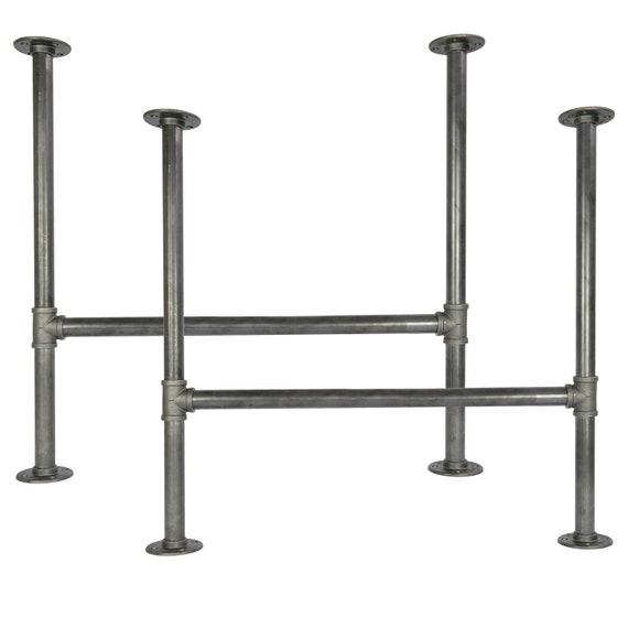 "4 Tischbeine /""Pipe/"" Temperguss Pipe Fittings Heizungsrohre Industrial Design DIY"