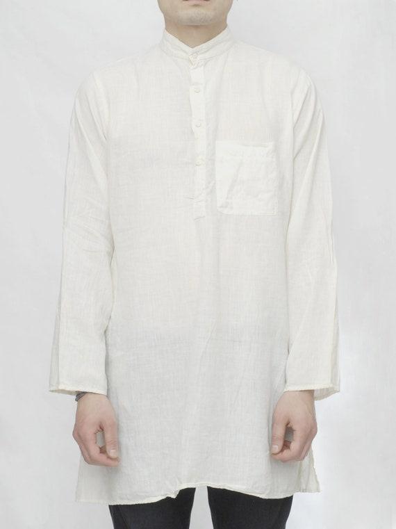 70's Cotton Gauze Kaftan