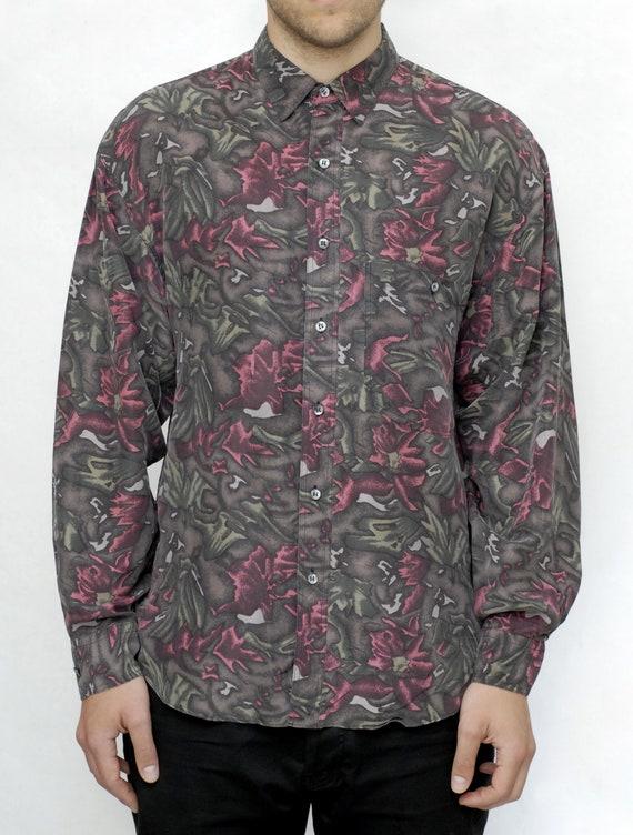 Tropical Silk Shirt