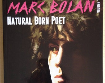 Marc Bolan of T.Rex poetry previously unreleased Natural Born Poet Individually hand numbered edition 2015 NEW