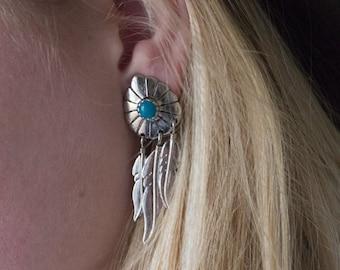 Vintage South Western Earrings