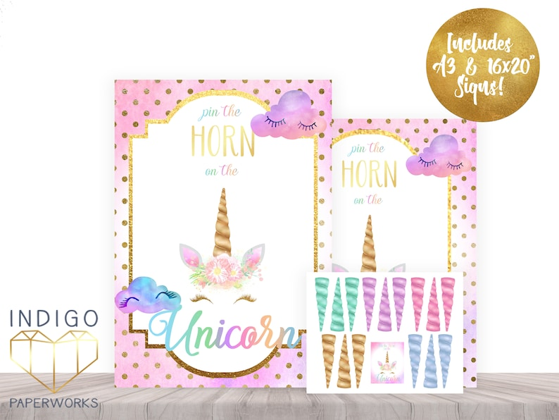 picture about Pin the Horn on the Unicorn Printable named Pin The Horn Upon The Unicorn Social gathering Sport, Printable Rainbow Birthday Video game, Quick Down load Rainbow Unicorn Occasion Activity