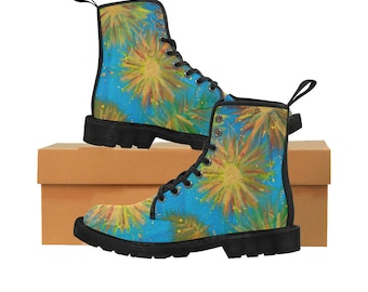 Martin Boots For Women Created From My Original Acrylic Painting