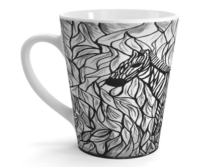 Latte mug Created From My Original Acrylic Painting