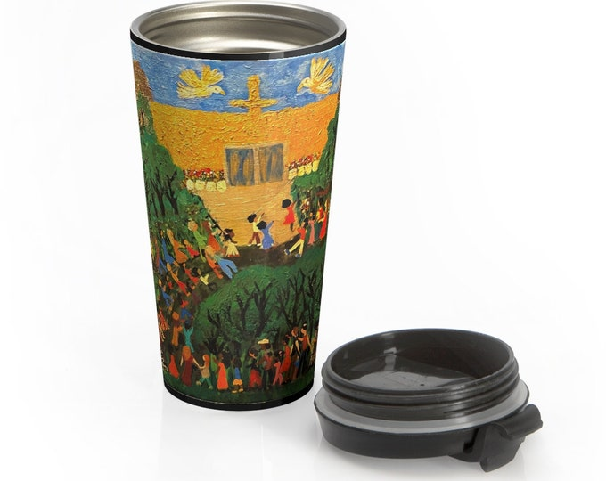 The Mountain Of The Lord House Stainless Steel Travel Mug
