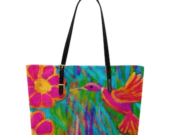 Euramerican Tote Bag Created From My Original Acrylic Painting