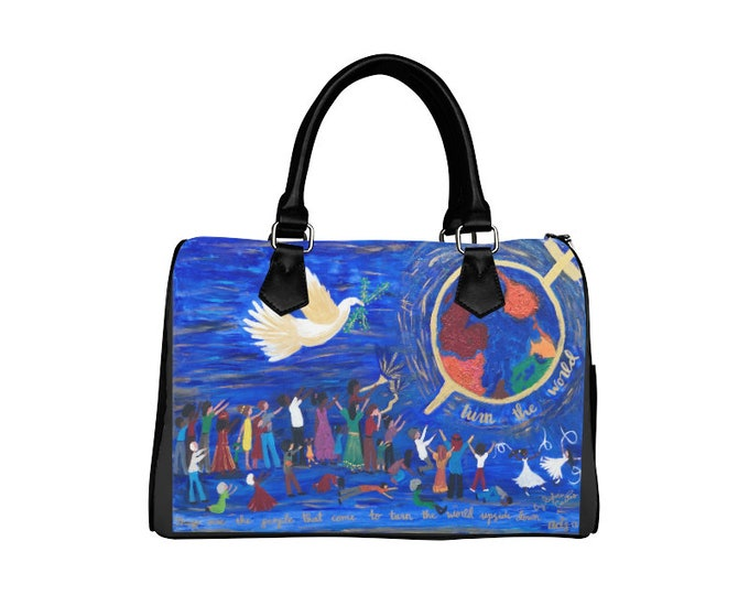 Hand Bag Created From My Original Painting
