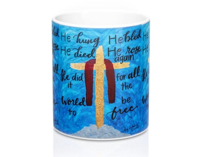 At The Cross Mug 11oz