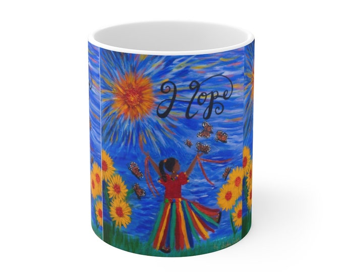 Copy of Hope Jeremiah 29:11  Mug 11oz