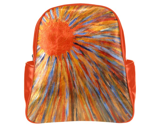 Backpack Created From My Original Acrylic Paintinng