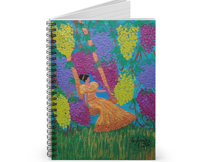 The Vine Spiral Notebook - Ruled Line John 15 :5