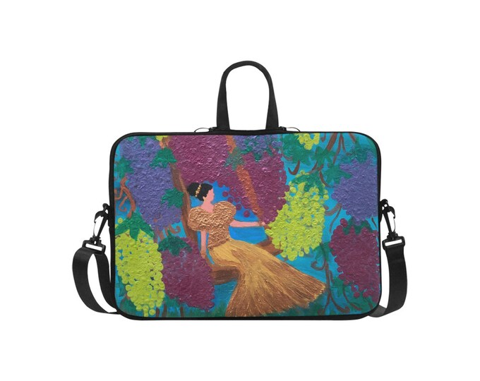 Lap Top Bag Created From My Original Acrylic Painting