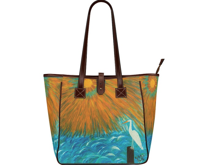 Classic Tote Bag Created from my Original Acrylic Painting