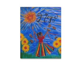 HOPE Canvas Print Created From My Original Painting