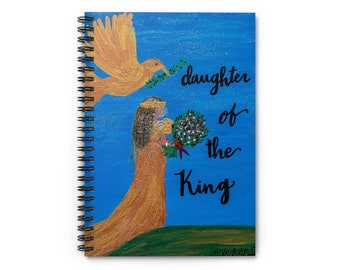Daughter of The King Spiral Notebook - Ruled Line