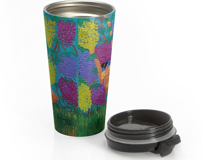 The Vine Stainless Steel Travel Mug
