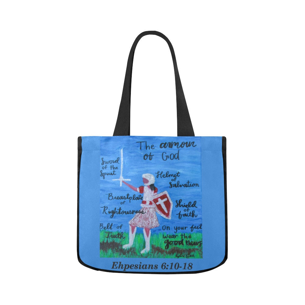 Canvas Tote Bag Created From My Original Acrylic Painting