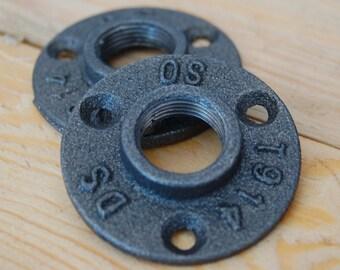 Piso 3/4 reborde / brida del piso de hierro (20 / 27mm) DIY