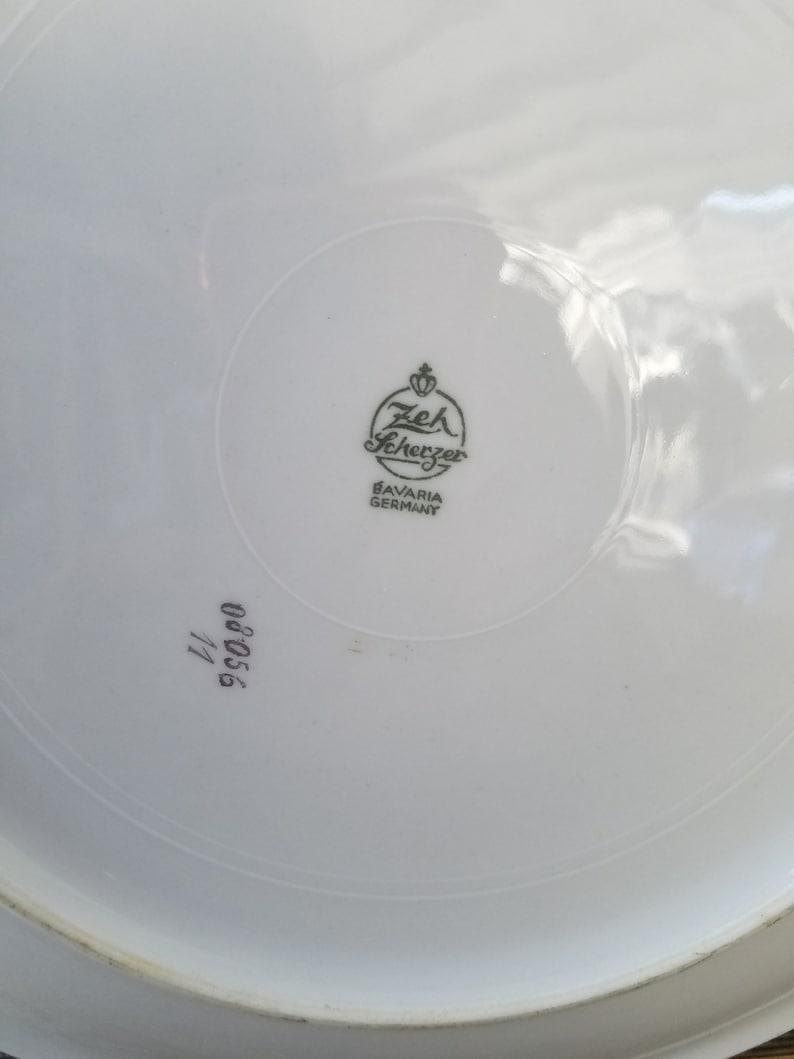 Germany \u2013 c 1960 \u2013 Excellent Vintage Condition Decorative Plate with Fruit \u2013 Bavaria