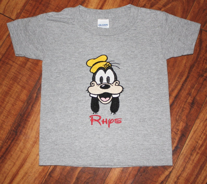 4c70bf8a Personalized Goofy Shirt Disney Shirt Mickey Mouse Shirt | Etsy