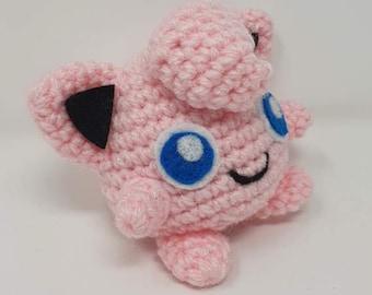 Jigglypuff Amigurumi Pattern | Pokemon crochet pattern, Crochet ... | 270x340