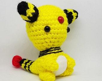 Crochet Pokemon Set Pikachu, Squirtle, Bulbasaur, Charmander ... | 270x340