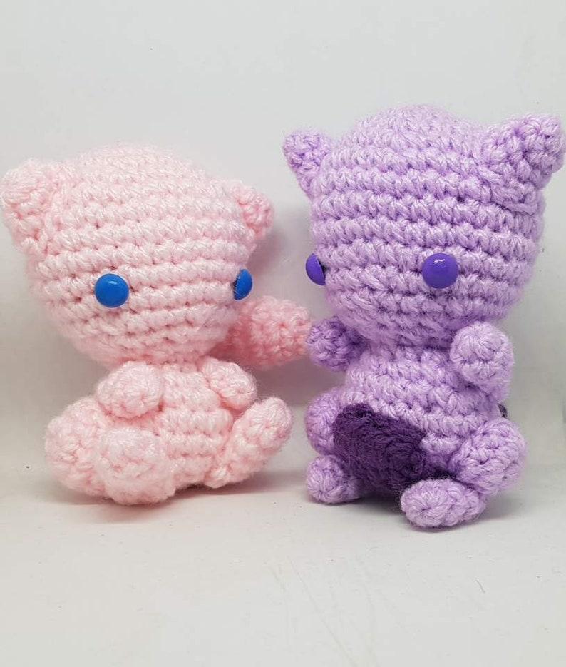 Mew Crochet Pattern pattern by Phillip Ha | Crochet pokemon ... | 935x794