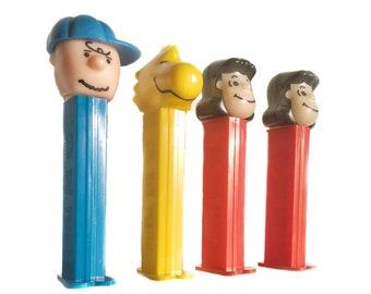 WOODSTOCK PEZ DISPENSER Vintage Pez Pez Dispenser Woodstock Pez Charlie Brown Peanuts Gang Novelty Gift Gift for Kids Candy Dispenser
